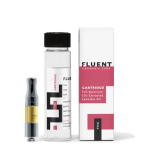 FLUENT THC VAPE CARTRIDGE