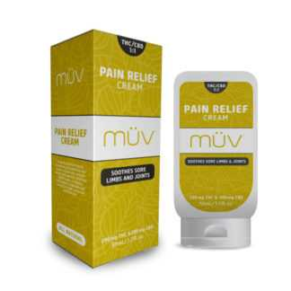 AltMed MUV Pain Relief Cream 1 to 1 THC to CBD