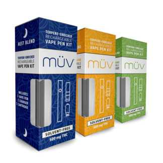AltMed MUV Terepine Enriched Vape Pen Kit - 500 MG THC
