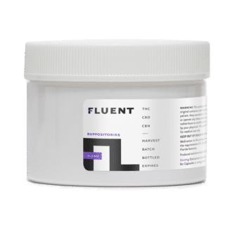FLUENT CBD THC BLEND SUPPOSITORIES