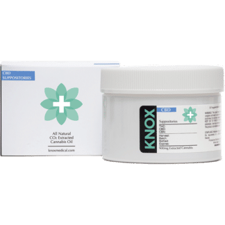Knox CBD Zeltor Suppositories