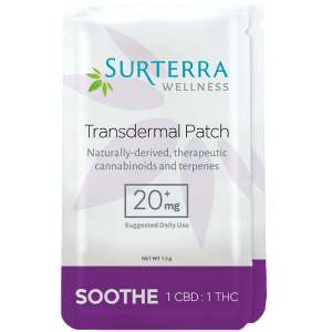 Surterra Soothe Transdermal Patch