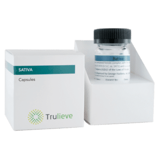 Trulieve Capsule Bottle 25ct 10mg Sativa