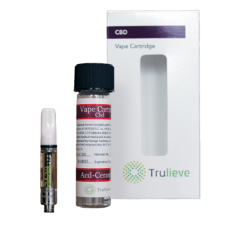 Trulieve Vape Pen Cartridge 400mg CBD 16 to 1 Ceramic