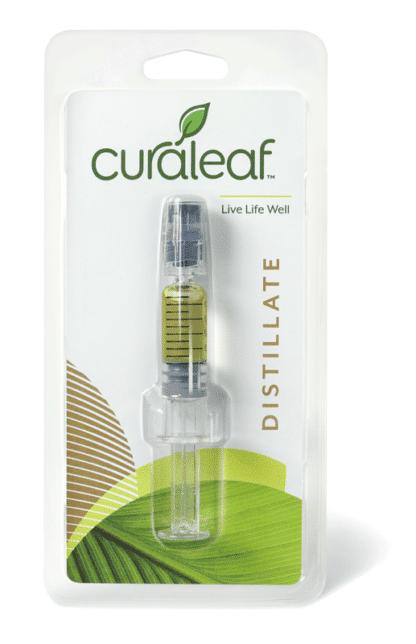 Curaleaf Concentrate Distillate Syringe