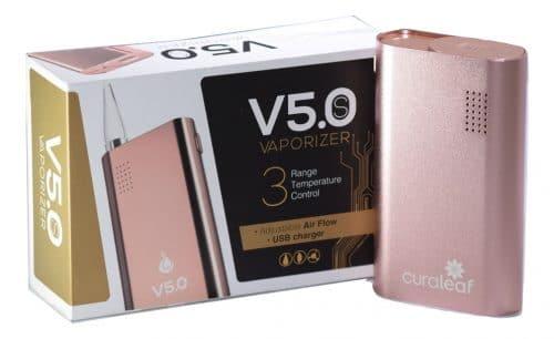 Curaleaf Flowermate V5.0S Vaporizer Pink