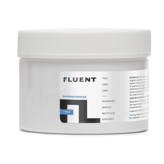 FLUENT PERLA CBD SUPPOSITORIES